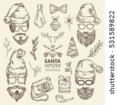 vector set. christmas and new...