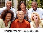 multicultural friends | Shutterstock . vector #531608236