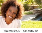 woman smiling | Shutterstock . vector #531608242