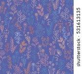 flower pattern. colorful...   Shutterstock . vector #531613135