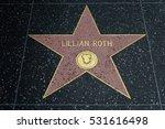hollywood  ca   december 06 ... | Shutterstock . vector #531616498