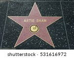 Small photo of HOLLYWOOD, CA - DECEMBER 06: Artie Shaw star on the Hollywood Walk of Fame in Hollywood, California on Dec. 6, 2016.