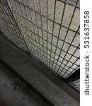 close up of a caged door | Shutterstock . vector #531637858