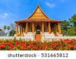 Haw Phra Kaew  Vientiane  Laos.