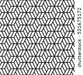 hexagonal grid pattern seamless ... | Shutterstock .eps vector #531675172
