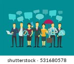 business group people company... | Shutterstock .eps vector #531680578