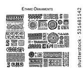 ethnic handmade ornament for... | Shutterstock .eps vector #531681142