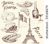 sweet france | Shutterstock .eps vector #53168674