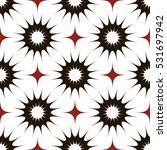 vector seamless pattern. modern ... | Shutterstock .eps vector #531697942