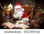 Good Old Santa Claus Reading A...