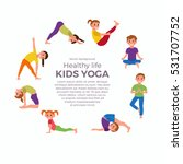cute cartoon gymnastics for...   Shutterstock .eps vector #531707752