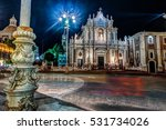 piazza duomo or cathedral... | Shutterstock . vector #531734026