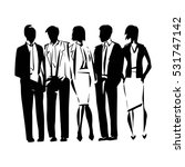 business people  set of vector...   Shutterstock .eps vector #531747142