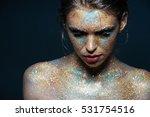 beauty portrait of cute lovely...   Shutterstock . vector #531754516