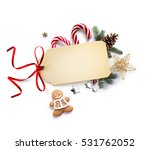 christmas holiday decoration ... | Shutterstock . vector #531762052