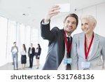 Business People Taking Selfie...