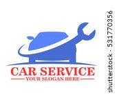 car service logo template design | Shutterstock .eps vector #531770356