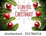 christmas decorations with... | Shutterstock . vector #531786916