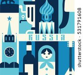 moscow  russia  background ...   Shutterstock .eps vector #531791608