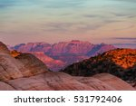 Zion  National Park At Sunrise...