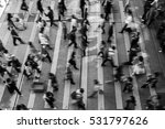 busy pedestrian crossing at... | Shutterstock . vector #531797626