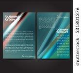 vector brochure template design ... | Shutterstock .eps vector #531801376