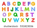 Alphabet Bright Colors Crochet...
