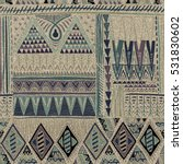 ethnic seamless pattern ...   Shutterstock .eps vector #531830602