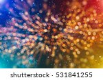 christmas abstract de focused | Shutterstock . vector #531841255