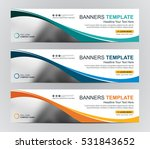 abstract web banner design... | Shutterstock .eps vector #531843652