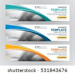 abstract web banner design... | Shutterstock .eps vector #531843676