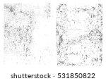 grunge overlay textures.vector... | Shutterstock .eps vector #531850822
