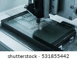 microchip production factory.... | Shutterstock . vector #531855442