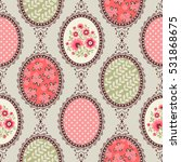 seamless vintage pattern for... | Shutterstock .eps vector #531868675