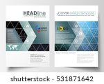 templates for brochure ... | Shutterstock .eps vector #531871642