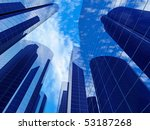 business building with... | Shutterstock . vector #53187268