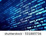 software developer programming...   Shutterstock . vector #531885736