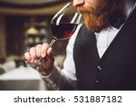 only truly connoisseur can feel ... | Shutterstock . vector #531887182