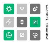 vector flat icons set  ...   Shutterstock .eps vector #531889996