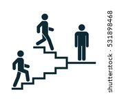 upstairs downstairs icon sign.... | Shutterstock .eps vector #531898468
