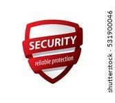 security logo vector | Shutterstock .eps vector #531900046