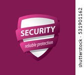 security vector logo | Shutterstock .eps vector #531901162