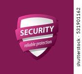 security vector logo | Shutterstock .eps vector #531901162