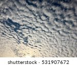 Small photo of Altocumulus Middle Cloud