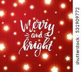 christmas border card design.... | Shutterstock .eps vector #531909772