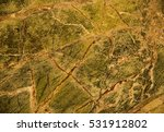 brown marble with white crack | Shutterstock . vector #531912802