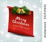 we wish you a very merry...   Shutterstock .eps vector #531919642