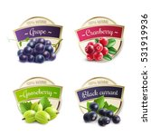 Organic Berries Labels...