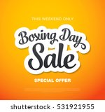 boxing day sale banner | Shutterstock .eps vector #531921955