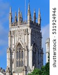 York Minster Tower With A...
